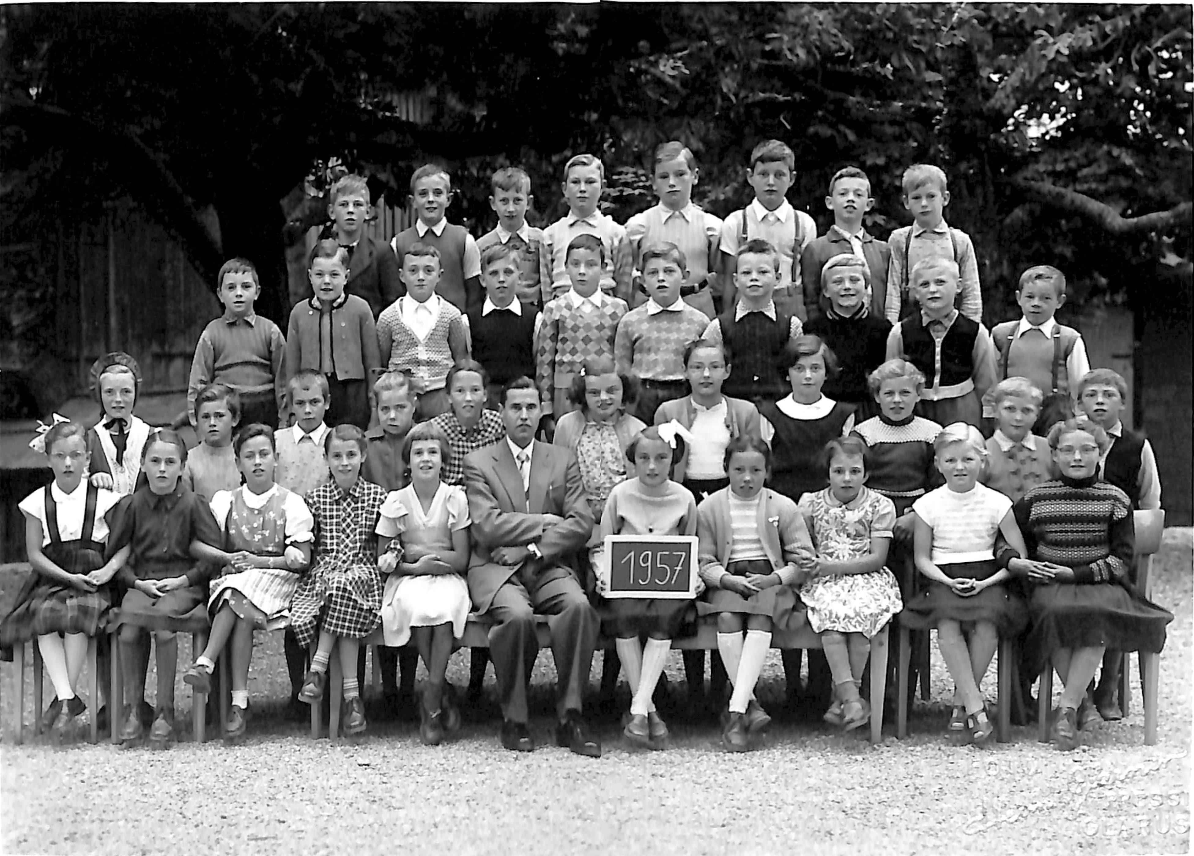 Primarschule in den 1950iger Jahren: kurzer Erlebniskalender